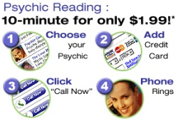 Free 10 Minute Psychic Reading